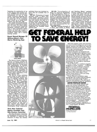 Maritime Reporter Magazine, page 15,  Jun 15, 1981