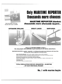 Maritime Reporter Magazine, page 30,  Jun 15, 1981