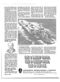 Maritime Reporter Magazine, page 33,  Jun 15, 1981