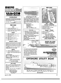 Maritime Reporter Magazine, page 45,  Jun 15, 1981