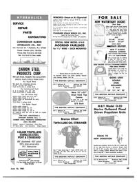 Maritime Reporter Magazine, page 47,  Jun 15, 1981