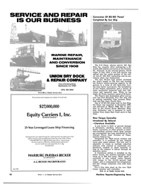 Maritime Reporter Magazine, page 8,  Jul 1981 Texas