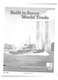 Maritime Reporter Magazine, page 13,  Jul 1981 World Trade Center