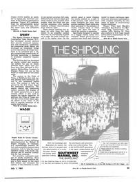Maritime Reporter Magazine, page 31,  Jul 1981 dry bulk car