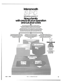 Maritime Reporter Magazine, page 43,  Jul 1981 copolymer technology
