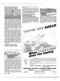 Maritime Reporter Magazine, page 45,  Jul 1981 Rodney E. Lay