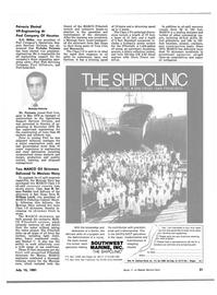 Maritime Reporter Magazine, page 19,  Jul 15, 1981 B.D. Miller