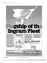 Maritime Reporter Magazine, page 23,  Jul 15, 1981 U S A