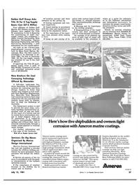 Maritime Reporter Magazine, page 35,  Jul 15, 1981