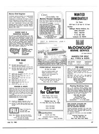 Maritime Reporter Magazine, page 45,  Jul 15, 1981 Ohio