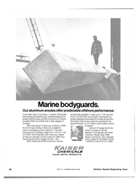 Maritime Reporter Magazine, page 4th Cover,  Jul 15, 1981 manufacturing facility