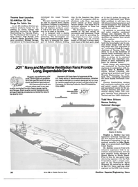 Maritime Reporter Magazine, page 14,  Aug 15, 1981 Washington
