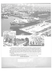 Maritime Reporter Magazine, page 18,  Aug 15, 1981 Service Card SHIPLIFT & TRANSFER SYSTEMS