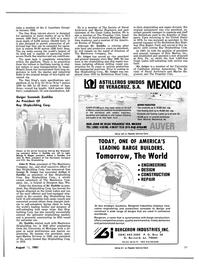 Maritime Reporter Magazine, page 23,  Aug 15, 1981 Michigan