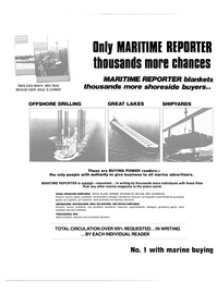 Maritime Reporter Magazine, page 26,  Aug 15, 1981 DRILL RIG BUILDING
