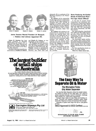 Maritime Reporter Magazine, page 33,  Aug 15, 1981