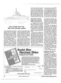 Maritime Reporter Magazine, page 36,  Aug 15, 1981 Klaus Bock Translated