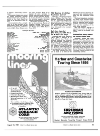 Maritime Reporter Magazine, page 39,  Aug 15, 1981