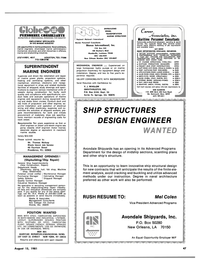 Maritime Reporter Magazine, page 41,  Aug 15, 1981 Alabama