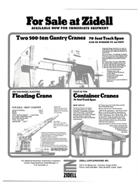 Maritime Reporter Magazine, page 42,  Aug 15, 1981 A.D. Canulette , Jr.