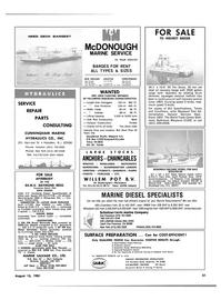Maritime Reporter Magazine, page 45,  Aug 15, 1981 California