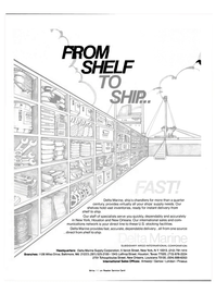 Maritime Reporter Magazine, page 3rd Cover,  Aug 15, 1981 Delta Marine Supply Corporation