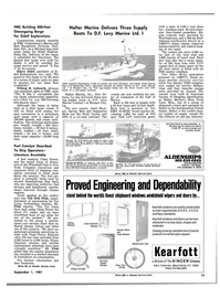Maritime Reporter Magazine, page 15,  Sep 1981 New York