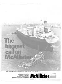 Maritime Reporter Magazine, page 1,  Sep 1981 New York Harbor