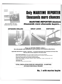 Maritime Reporter Magazine, page 42,  Sep 1981 DRILL RIG BUILDING