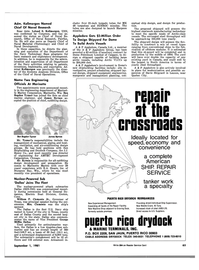 Maritime Reporter Magazine, page 4th Cover,  Sep 1981 Connecticut