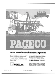 Maritime Reporter Magazine, page 15,  Sep 15, 1981 PACECO Inc.