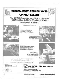 Maritime Reporter Magazine, page 28,  Sep 15, 1981 LICENSOR ESCHER WYSS G.M.B.H.
