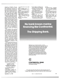 Maritime Reporter Magazine, page 29,  Sep 15, 1981 Mel Marini