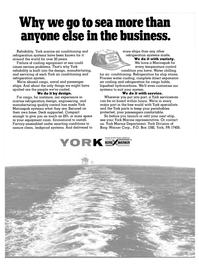 Maritime Reporter Magazine, page 38,  Sep 15, 1981 York Marine Department