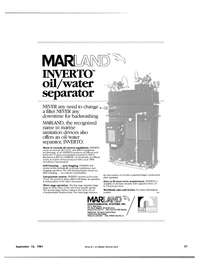 Maritime Reporter Magazine, page 49,  Sep 15, 1981 oil influent concentration