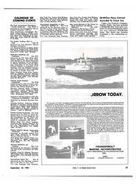 Maritime Reporter Magazine, page 55,  Sep 15, 1981
