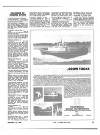 Maritime Reporter Magazine, page 55,  Sep 15, 1981 Trevor Lewis-Jones