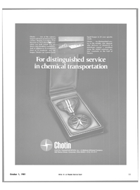 Maritime Reporter Magazine, page 29,  Oct 1981 chemical transportation