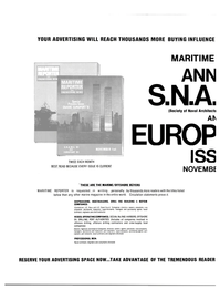 Maritime Reporter Magazine, page 44,  Oct 1981 marine magazine