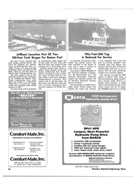Maritime Reporter Magazine, page 50,  Oct 1981