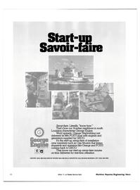 Maritime Reporter Magazine, page 24,  Oct 15, 1981 Harman On Time Radio