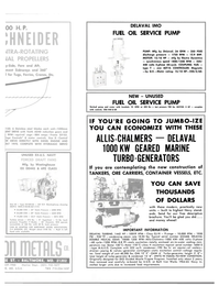 Maritime Reporter Magazine, page 35,  Oct 15, 1981 Allis-Chalmers