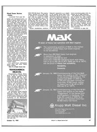 Maritime Reporter Magazine, page 43,  Oct 15, 1981