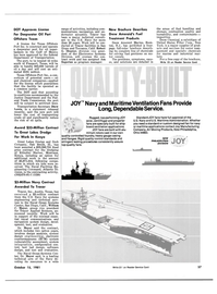 Maritime Reporter Magazine, page 53,  Oct 15, 1981 New York
