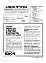 Maritime Reporter Magazine, page 56,  Oct 15, 1981