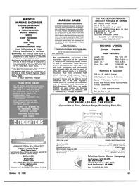 Maritime Reporter Magazine, page 59,  Oct 15, 1981 Louisiana