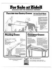Maritime Reporter Magazine, page 62,  Oct 15, 1981 A.D. Canulette , Jr.