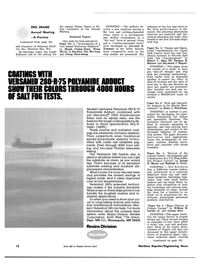 Maritime Reporter Magazine, page 10,  Nov 1981 Versamid 280 System