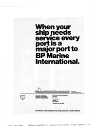 Maritime Reporter Magazine, page 12,  Nov 1981 lubrication services