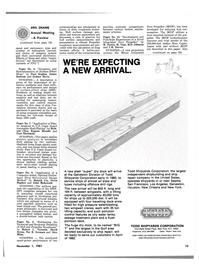 Maritime Reporter Magazine, page 15,  Nov 1981 Alex Milne